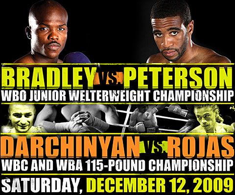 Bradley vs Peterson fight poster