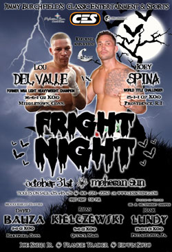 Fright night fight poster