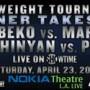 Bantamweight Tournament Finale on Showtime