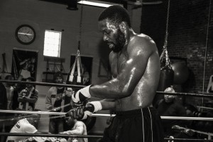 """Bryant """"By-By"""" Jennings working out (Photo Darryl Cobb Jr.)"""