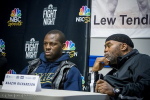 Cunningham and Brother Nazim Richardson - Press Conference March 17th.