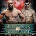 Masternak-Mormeck confirmed for December 5