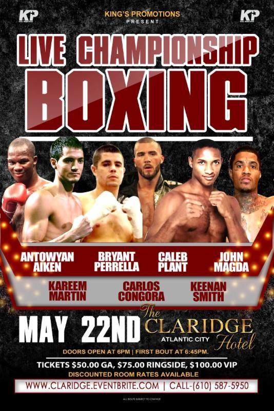 Live championship boxing