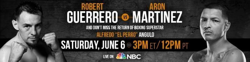 Robert Guerrero vs Aron Martinez