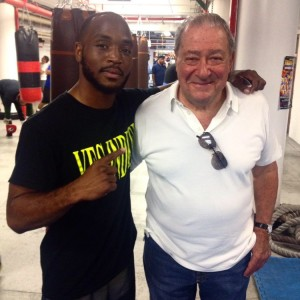 Mike Reed and Bob Arum