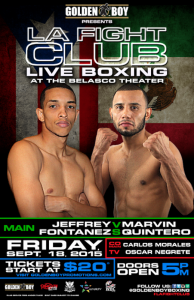 LA Fight Friday sept.18